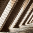 Постер, плакат: Diagonal Architectural Abstract