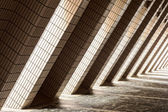 Diagonal Architectural Abstract — Stock Photo
