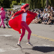 Stock Photo: Super Hugger In Parade
