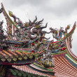 Temple Roof With Clouds — Stock Photo #29702115