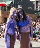 Two Street Parade Performers — Stock Photo