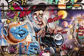 Wicked Photographer Graffiti — Stock Photo