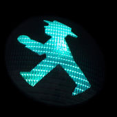 Ampelmannchen Traffic Signal — Stock Photo