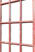 Weathered Wood Window, Isolated — Stock Photo