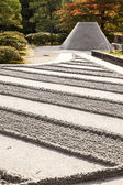 Zen Garden at Ginkakuji — Stock Photo