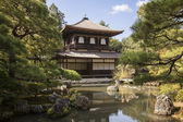 Silver Pavilion at Ginkakuji — Stock Photo