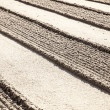 Stock Photo: Lines In Zen Sand Garden