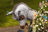 Donkey Costume In Parade — Stock Photo