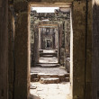 Preah Khan Temple Corridor — Stock Photo
