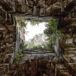 Temple Tower Ceiling At Preah Khan — Stock Photo
