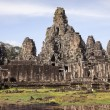 Stock Photo: Bayon Temple at Angkor Thom