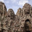 Stock Photo: Towers Of Bayon Temple