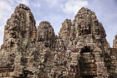 Towers Of The Bayon Temple — Stock Photo
