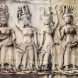 Stock Photo: Carvings Of Women At Angkor Wat