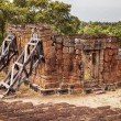 Stock Photo: Leaning Building at East Mebon Temple