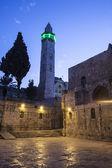 Minaret At Night — Stock Photo