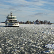 Ferry In Helsinki Winter — Stock Photo #7574163