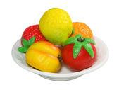Marzipan Fruit — Stock Photo