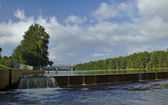 Nepean River Weir — Stock Photo