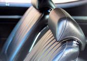 Interior Seats Of Classic Car — Stock Photo