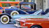 Classic Car Show — Stock Photo
