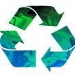 Recycle Symbol — Stock Photo