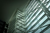 Interior architecture structure of Marina Bay Sands Resort Hotel — Fotografia Stock
