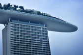 El marina bay sands resort hotel — Foto de Stock