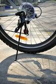 Mountain cykel — Stockfoto
