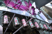 Chinese New Year Decoration at Orchard Road — Stock Photo
