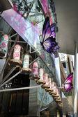 Chinesisches Neujahr Dekoration an der Orchard road — Stockfoto