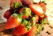 Ripe strawberries — Stock Photo