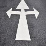 Arrow ahead — Stock Photo #50625215