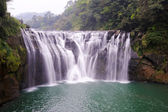 Shifen waterfall — Stock Photo