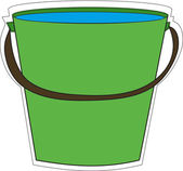 Bucket of water — Stock Photo