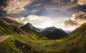 The wonderful green valley — Stock Photo