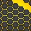 Vector honeycomb background — Stock Vector #22949162