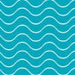Waves seamless — Stock Vector