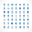 Set of icon design elements. — Stock Vector #47005095