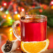 Stock Photo: Christmas tea