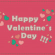 Happy Valentine´s Day — Stock Vector