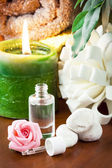 Aromatherapy oil with rose aroma — Stock Photo