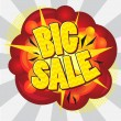 Stock Vector: Big sale