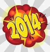 2014 — Stock Vector
