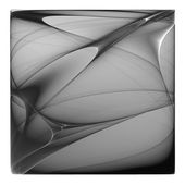 Black and white illustration of abstract background. Beautiful c — Stock Photo