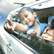 Asian Kids on a Road Trip — Stock Photo #10616021
