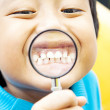 Healthy teeth of child — Stock Photo #12627362