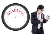 Business deadline — Stock Photo