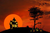 Spooky house — Stock Photo