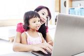 Educación de internet para niños — Foto de Stock